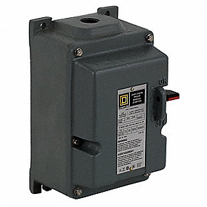 STARTER HP TYPE M INT 3POLE 115V