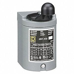 square d maintained momentary reversing plastic drum switch, 3 polesquare d maintained momentary reversing plastic drum switch, 3 pole, nema rating 1 2bw44 2601ag2 grainger