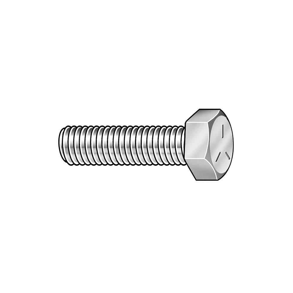 1 in L Metal Screw 14 PK50 Hex