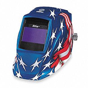 MILLER ELECTRIC Elite Series Welding Helmet, 8 to 13 Lens