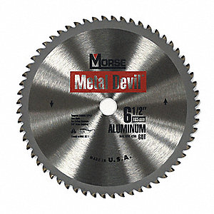 "6-1/2"" Carbide Metal Cutting Circular Saw Blade, Number of Teeth: 54"