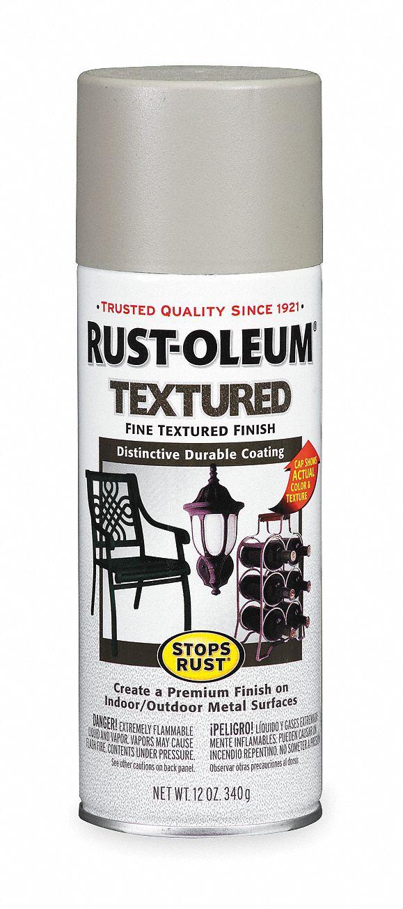 RUST OLEUM Stops Rust Textured Spray Paint in Textured Sandstone