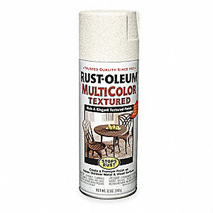 Stops Rust® Textured Spray Paint in Textured Caribbean Sand for Concrete, Masonry, Metal, Wood, 12 o