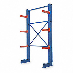 Starter Straight Cantilever Rack, No. of Sides: 1, 6 Arms, Arm Length: 24""