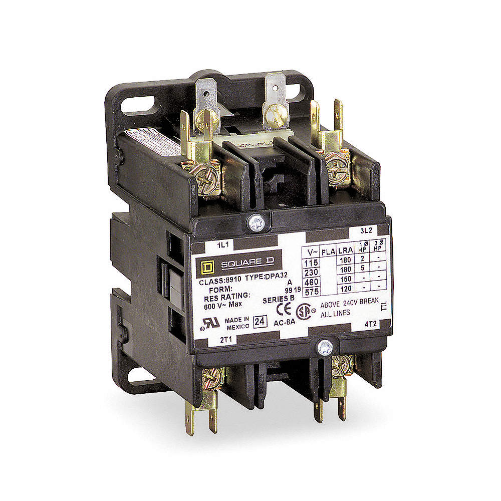 Unique Square D Magnetic Contactor Gallery - Electrical System Block ...