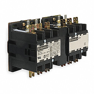 Definite Purpose Contactor, 110/120VAC Coil Volts, 25 Full Load Amps-Inductive, Open Enclosure Type