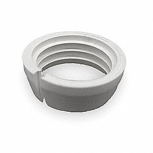 "PFA, PTFE, ETFE Compression Gripper, 3/8"" Tube Size"