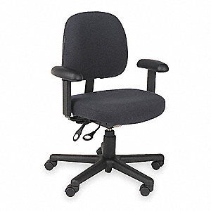 Task Chair,Blk,Fabric,Adjust Arms