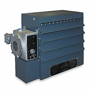 Hazardous Location Unit Heater, Fan Forced, Voltage 480, Amps AC 12.7, 3 Phase, BtuH 34,150