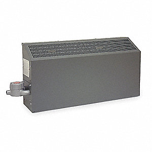 Hazardous Location Wall Heater, Convection, 240VAC, Amps AC 15, 1 Phase, BtuH 12,286