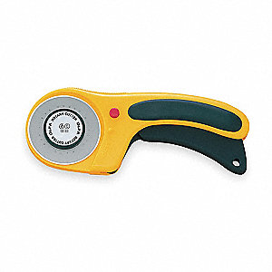Ergonomic Rotary Cutter,60mm Tungsten