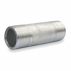 Rigid Conduit Nipple,3/4 In x 3,Al