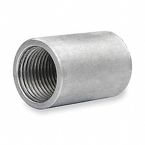 "1/2"" Rigid Threaded Coupling, 1-1/2"" Overall Length"