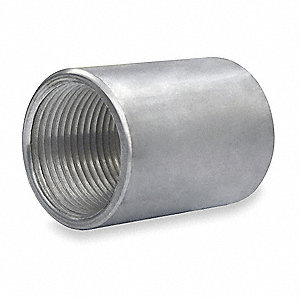 Rigid Conduit Coupling,1 In,Alum
