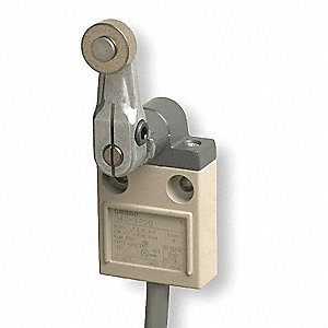 Rotary, Roller Lever General Purpose Limit Switch; Location: Side, Contact Form: SPDT, CW, CCW Movem
