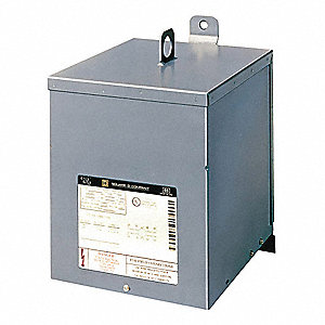 Single Phase Transformer, 120VAC, 240VAC Output, 600VAC Input