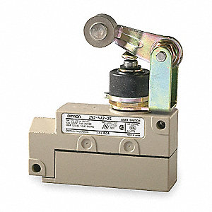 Enclosed Limit Switch, 480VAC Voltage Rating, 15/15/10 Amps, Top Actuator Location