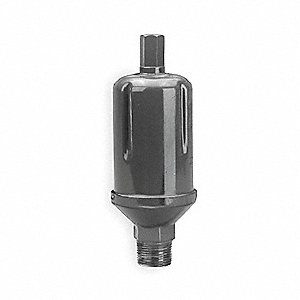 Hydronic Air Vent,  3/4 in (M)NPT or 1/2 in (F)NPT,  75 psi Max. Pressure (PSI),  Brass and SS