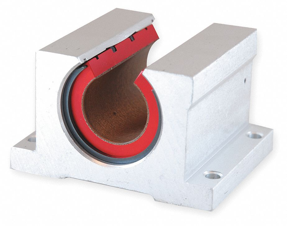 Pillow Block, 0.750 In Bore, 1.880 In L