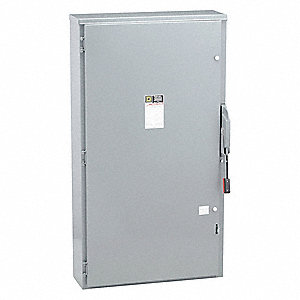 Safety Switch, 3R NEMA Enclosure Type, 400 Amps AC, 125 HP @ 600VAC HP
