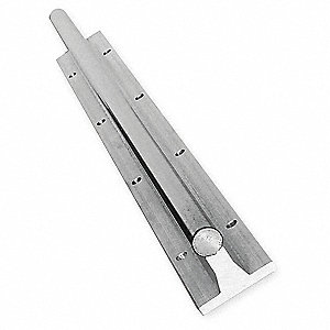 Rail Assy,Alum & Steel,0.500 In D,24 In