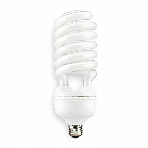 Screw-In CFL,Non-Dimmable,2700K,55W