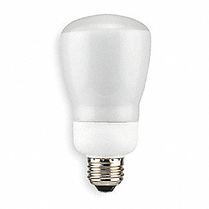 Screw-In CFL,Non-Dimmable,4100K,11W