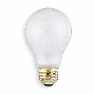 75 Watts Incandescent Lamp, A19, Medium Screw (E26), 800 Lumens, 2800K Bulb Color Temp.
