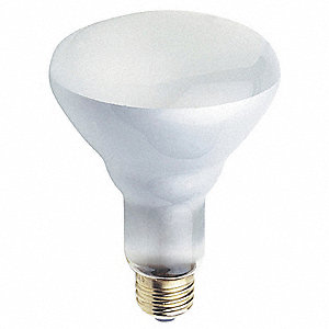 65 Watts Incandescent Lamp, BR30, Medium Screw (E26), 670 Lumens, 2800K Bulb Color Temp., 6 PK