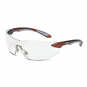 Ignite  Scratch-Resistant Safety Glasses, Clear Lens Color