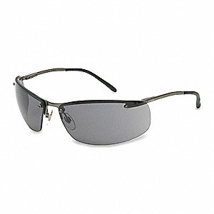 Slate™ Anti-Fog Safety Glasses, Gray Lens Color