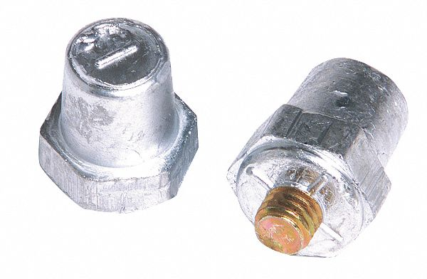 GROTE 84-9185 Adaptor Nut Accessory,PK5
