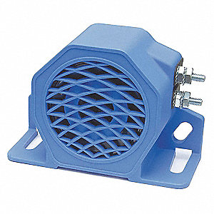 Back Up Alarm,97dB,Blue,3-5/16 In. H