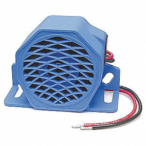 Back Up Alarm,107dB,Blue,3-5/16 In. H