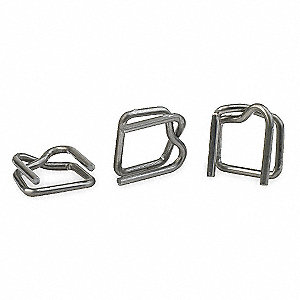 BUCKLE WIRE 1/2IN 1000/PK