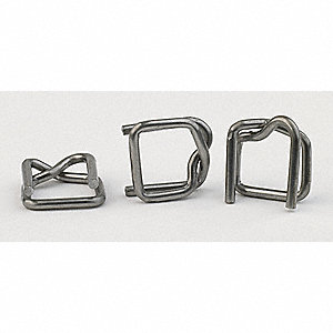 Strapping Buckle,1/2 In.,PK1000