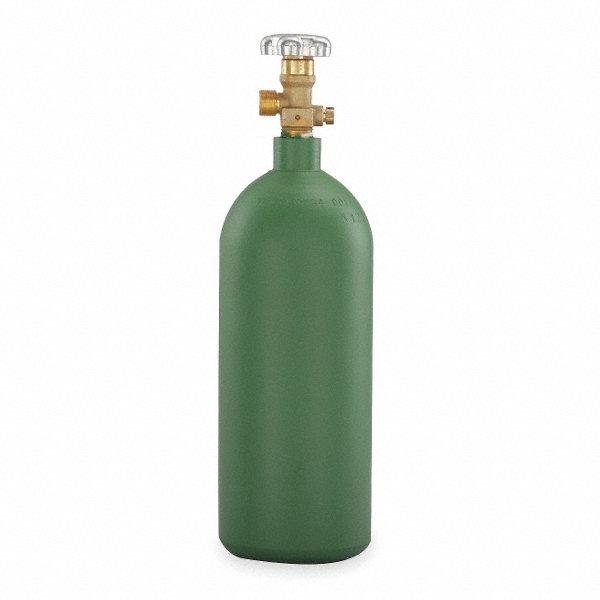 MILLER ELECTRIC Refill Portable Cylinder,Oxygen,20 Cu Ft