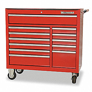 rolling tool cabinet41 in w12 drawer