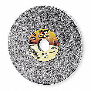 "14"" Straight Grinding Wheel, 1-1/2"" Thickness, 5"" Arbor Size, Medium (I), Toolroom, Aluminum Oxide"
