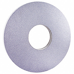 "Type 1 Aluminum Oxide Straight Grinding Wheel,  14"",  5"" Arbor Hole Size,  60 Grit,  1"" Thickness"