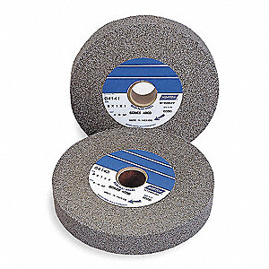 "6"" Convolute Wheel, 1"" Width, Silicon Carbide, 1"" Arbor Hole, Fine, Hard (8), 1000, EA1"