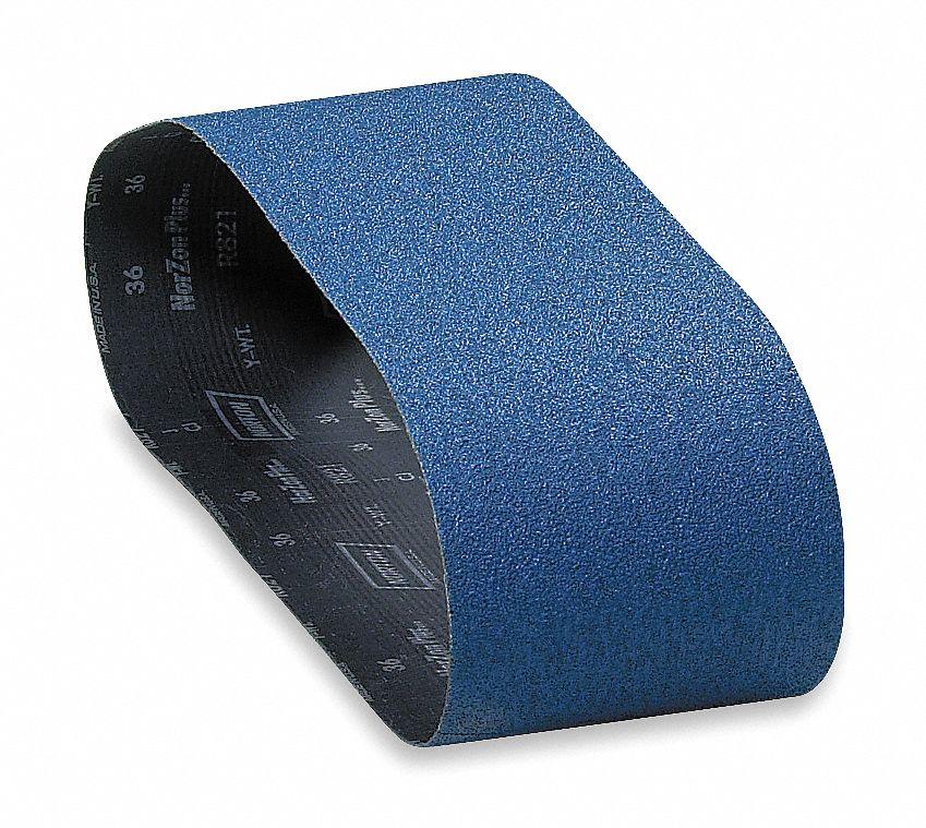 6 Wide x 48 Long Zirconia Alumina Abrasive Belt 50 Grit