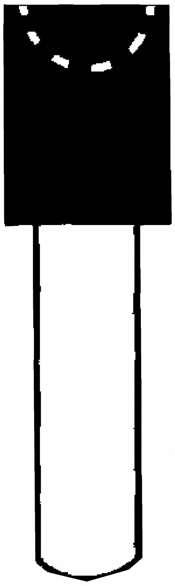 "Norton Medium Vitrified Mounted Point (1/8"" Spindle Diameter). Model: 61463624485"
