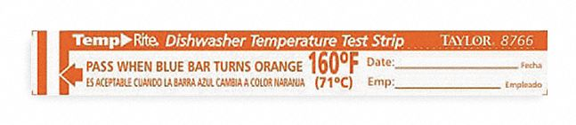 Temperature Test Strips