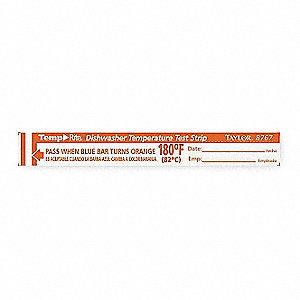 Dishwasher Test Strip,PK25