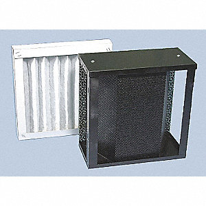 12x12x8 MERV 7 Carbon Module and Pleated Filter For Use With Mfr. No. S-987-2A, Frame Included: Yes