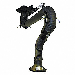 Extractor Arm,Fume,Length 72 In,Dia 4 In