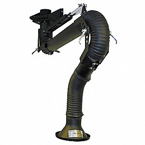 Extractor Arm,Fume,Length 96 In,Dia 4 In