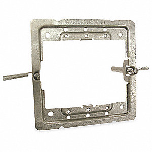 "Galvanized Steel Box Support, For Use With Drywall Applications 3/8"" to 1-1/2"""