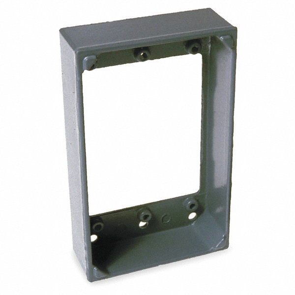 Bell Aluminum Extension Box For Use With 1 Gang Electrical